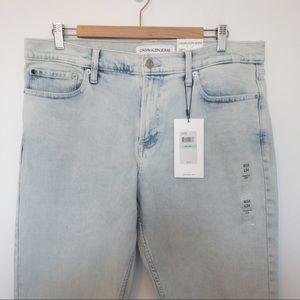 Calvin Klein Men Size 34x34 Jeans Straight-Fit
